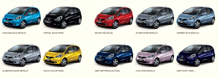 What Colour Jazz 2008 2015 Do You Own