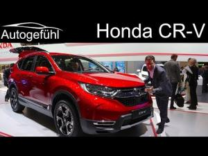 2018 Honda CRV at the Geneva Motor Show