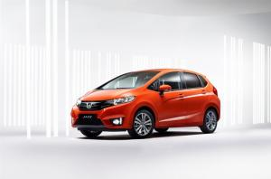 Official pictures of the 2015 Honda Jazz