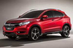 Honda HR-V to make debut at Paris Motor Show