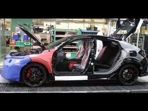 Inside Honda's Swindon Plant (Civic Type R)