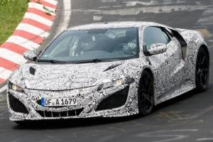 New NSX spied at the 'ring