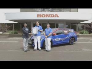 Honda sets new Guinness World Records title for fuel efficiency